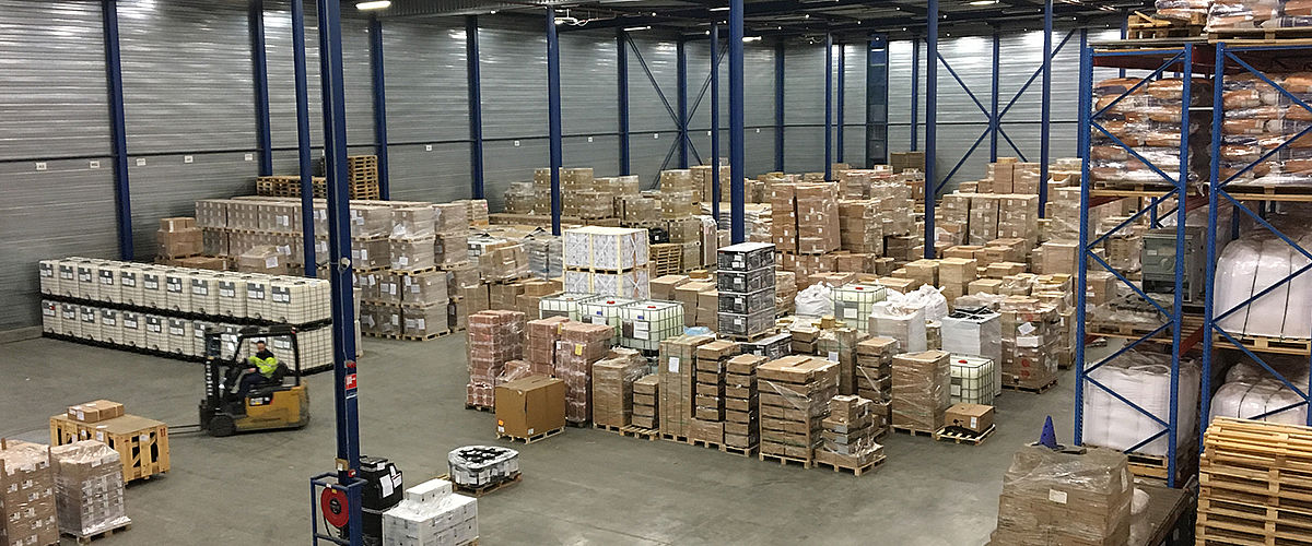 Warehousing solutions – right in Rotterdam's port area