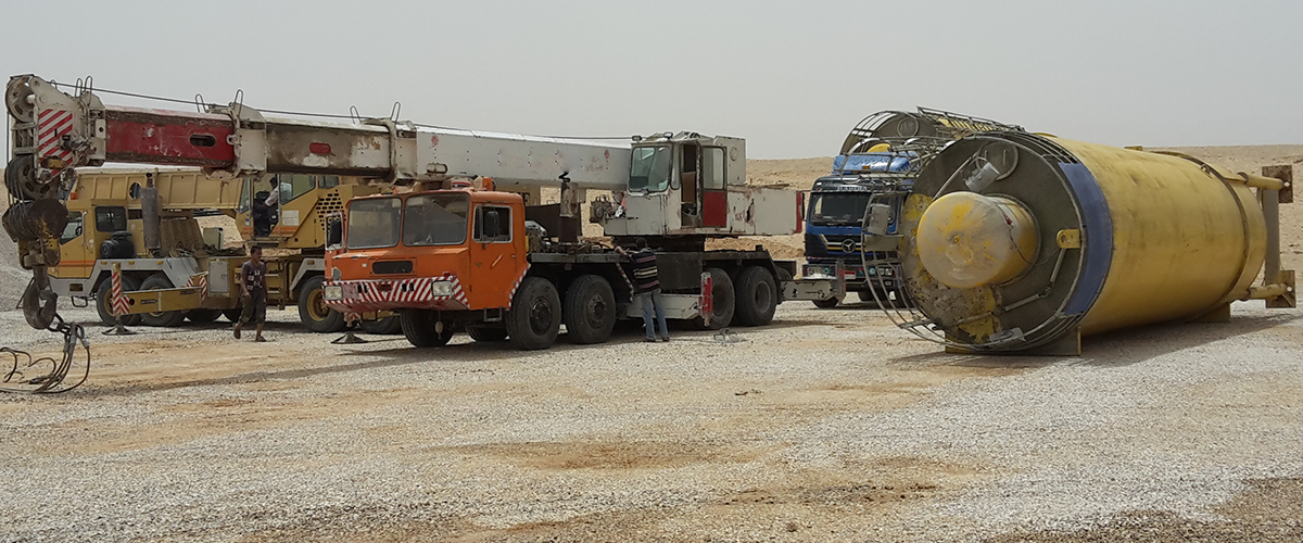 Import of used machinery to Egypt and Turkey
